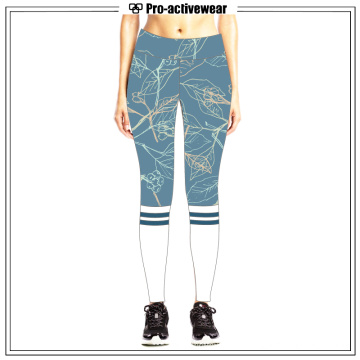 New Arrival Quick Dri personalizado feito quente ioga meninas calças