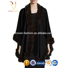 Inner Mongolia Fox Fur Cashmere Shawl Stole Wrap