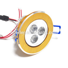 100-240v/AC 3w Good heat dissipation long lifespan 3w led downlight