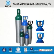 Cylindre de gaz en aluminium à haute pression 1L (LWH108-1.0-15)