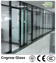 2-19mm Clear Tempered Glass for Sunroom