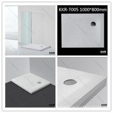 Artificial stone shower tray/ sanitary ware rectangular shower base