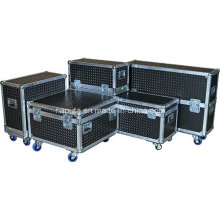 Custom Aluminum Flight Cases for DJ Equipment (HF-1300)
