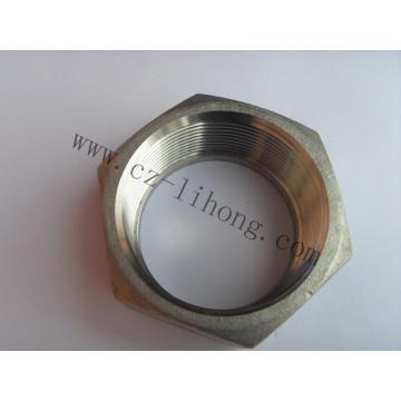 1/8 acero inoxidable 316 DIN2999 tuerca hexagonal