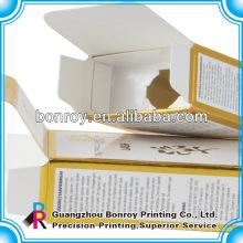 Parfüm Box Verpackung Kosmetikkarton mit Folie Arbeit