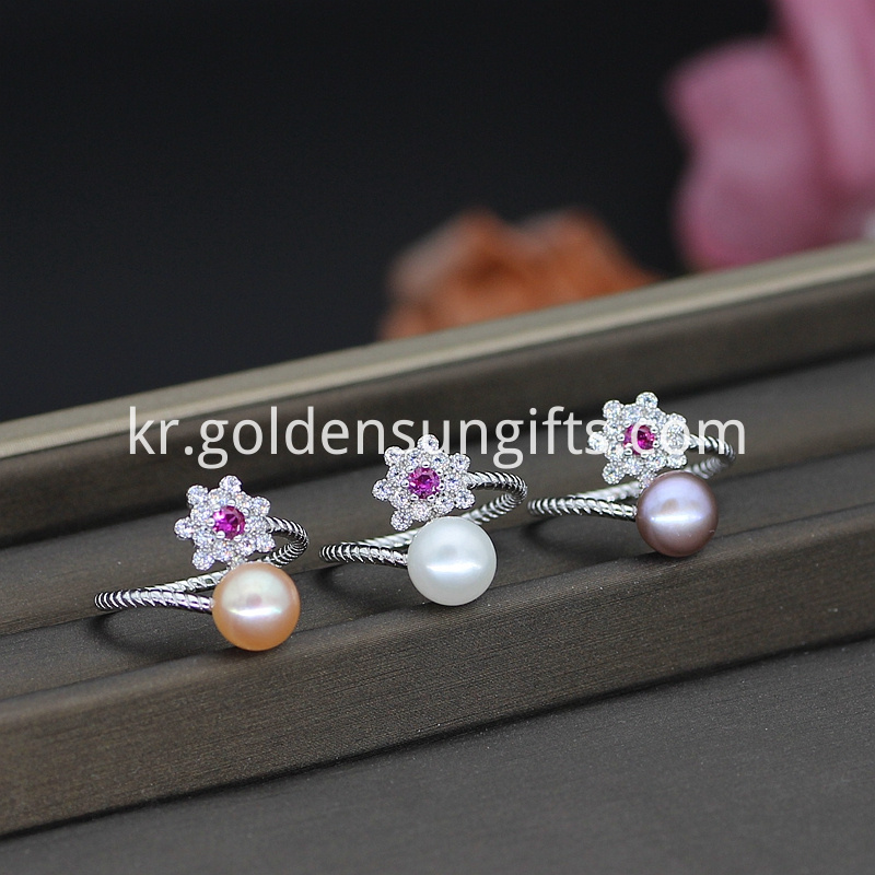 Freshwater Pearl Ring Design