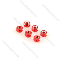 Набор ключей с алюминиевой стопорной гайкой по индивидуальному заказу, красный, черный