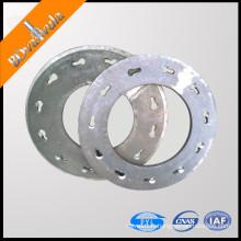 Fabricant de flasque de plaque d'extrémité laminé à chaud standard GB