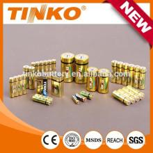 Щелочные батареи размера AA 1, 5V с лучшей цене