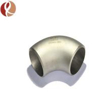 Coudes extrudés Gr2 Titanium 45/90 degrés pour système d'échappement