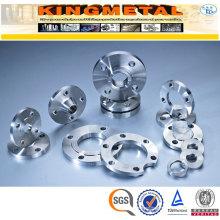 Gr. 1/2/5/7/9 Accesorios de tubería de acero Brida de acero de titanio