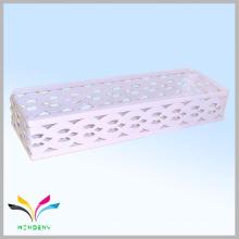 cesta de armazenamento de empilhamento de metal de ferro atraente e de alta qualidade de alta qualidade