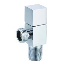 J7020 цинковый сплав с квадратной ручкой латунный угловой клапан