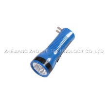 4pcs led light with UV light rechargeable torch
