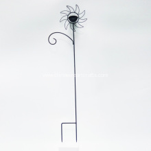 Metal Sunflower Stake For Garden Decoration