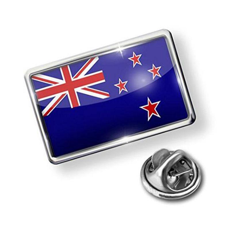 Fashion New Zealand Flag Stick Hat Brooch Pin
