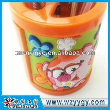 flor forma vinil pvc bonita caneta titular para lembrança crianças