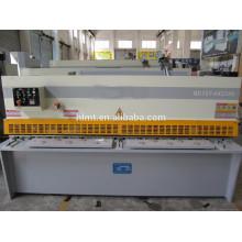 Cisaillage mahcine hellen CE, cindette hydraulique cnc, machine de cisaillement hydraulique standard de guillotine