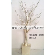 Decor 175CM Popular Crystal Bead Drop Tree For Wedding Table