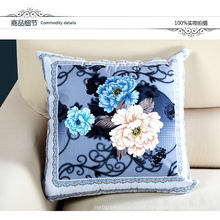 European Including Pillow Core Printing Office Sofa Bed Pillow Car Cushion Wholesale Gift