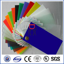 colored polystyrene plastic ps sheet