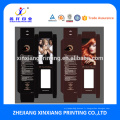 Boîtes élégantes adaptées aux besoins du client d'emballage de prolongation de cheveux d'impression de taille adaptée aux besoins du client avec la fenêtre