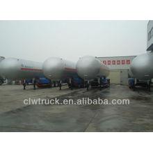 2014 grande capacidade 3axle 59.6cbm lpg reboques cisterna para venda