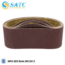 Hot selling factory outlet Calcined Aluminum oxide abrasive belt for metal About