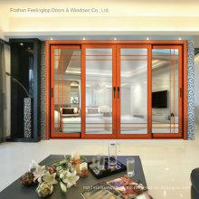 Kommerzielle doppelt verglaste Wärmedämmende Architekturfenster (FT-W120)