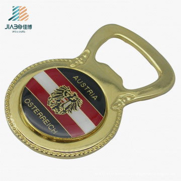 Wholesale Promotional Gift Gold Print Epoxy Custom Bottle Opener for Australian