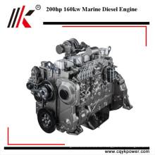 Haltbarer elektrischer Start 200hp kleiner Dieselelektrischer Innenbordmotor-Bootsmotor