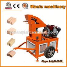 WT1-20 semi automatic interlocking block machines
