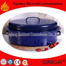 Sunboat New Design Emaille mittlerer Größe Oval Roaster Kochgeschirr