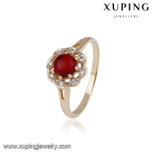 14744 Fashion jewelry elegant ring designs, 18k gold color ring for women