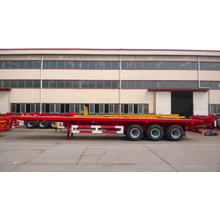 Special Design for Flatbed Semi-Trailer 40' Tri-Axle Flatbed Semi-Trailer export to Dominican Republic Factory