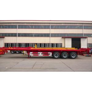 40' 3-Axle Flatbed Semi-Trailer