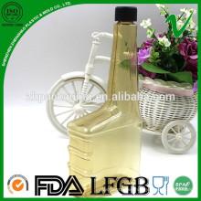 Venta al por mayor transparente de aceite de motor de PVC botella de plástico proveedor de China para la industria