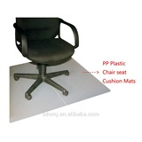 PP Transparent plastic office chair floor mats