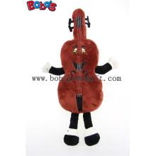 Schokolade benutzerdefinierte gefüllte Maskottchen Tier Spielzeug mit Stickerei Clents Logo Bos1127