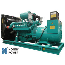 50Hz 500kW 625kVA High Voltage Generator with Marathon Alternator