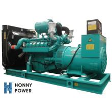 Расход топлива на дизельное топливо Googol 600kw 750kVA Тихий генератор