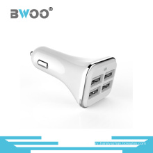 Wholesale Mobile Phone 4 USB Ports Battery Car Charger