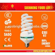 T4 40W completo poupança de energia espiral lâmpada tubo 10000H CE qualidade