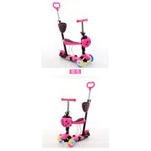 Scooter de bebê com 3 rodas de LED