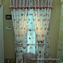 2015 latest design lovely model cartoon kids room curtains