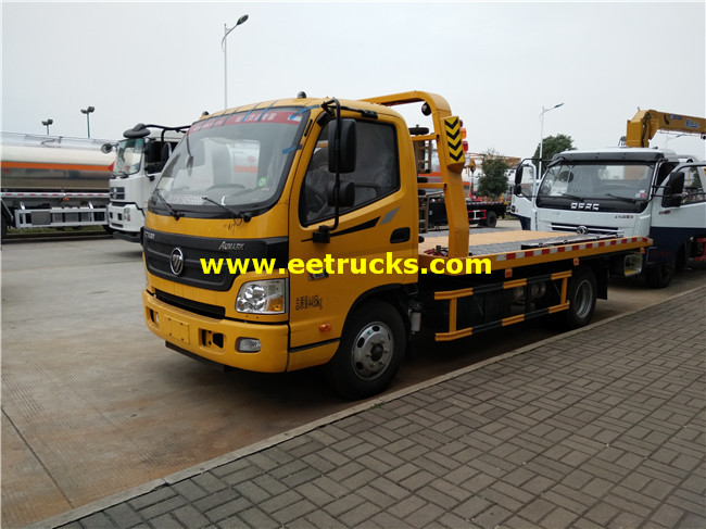 Flatbed Car Towing Trucks