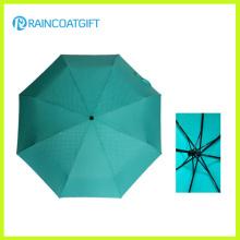 """21 """"* 8 k Werbeaktion Günstige 3 Falten Regenschirm"""