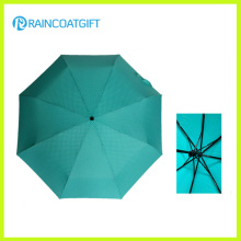 "21 ""* 8k promocionales baratos 3 paraguas plegable"