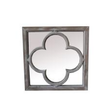 Espelho de madeira do projeto novo para Home Deco
