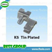 Metal Parts K5 Tin Plated/Terminal Block/Feed Through Terminal Block